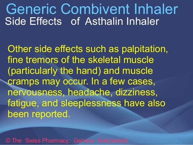 Combivent Nebule Side Effects