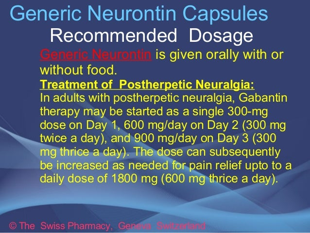 Neurontin 300 Mg Twice A Day