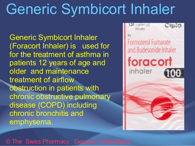 Generic Symbicort Inhaler For Treatment Of Asthma Copd