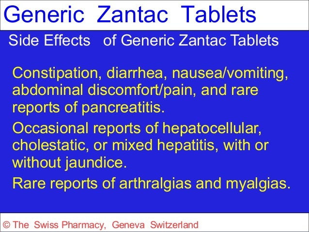 Zantac Side Effects Forum
