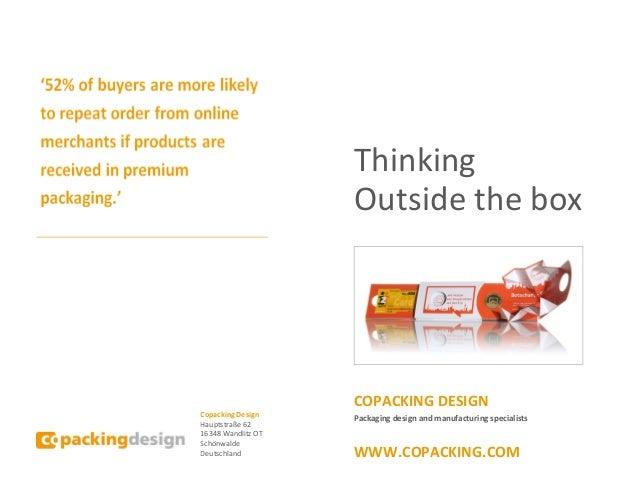 copacking brochure. Black Bedroom Furniture Sets. Home Design Ideas