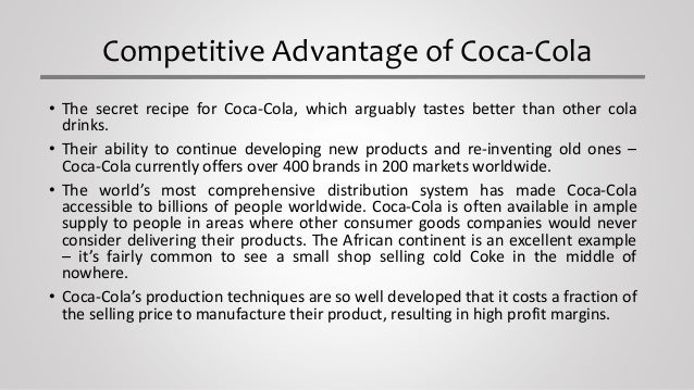 porter s generic strategy coca cola Essays - largest database of quality sample essays and research papers on porter s generic strategy coca cola.