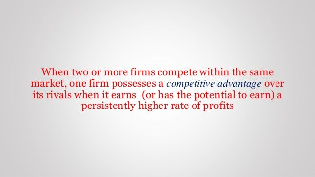 building blocks of competitive advantage Eight essential building blocks that must come together like members of an  orchestra to  you also need to know what your own competitive advantages are.