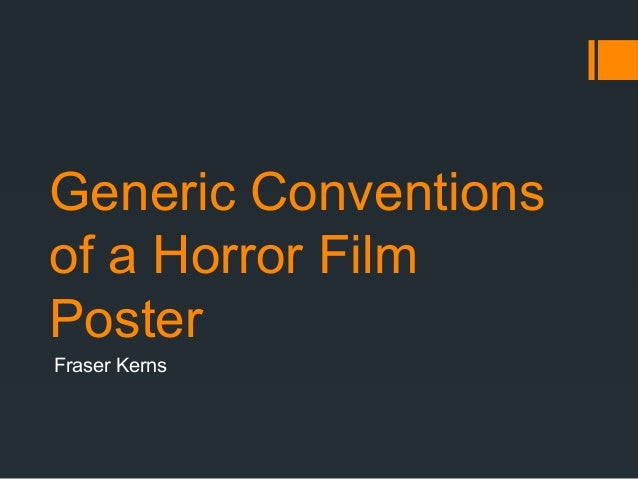 Generic conventions of Short Films