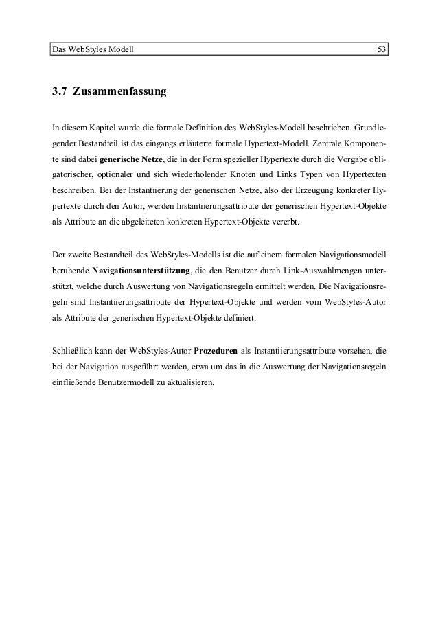 Diplomarbeit Generische Und Dynamische Hypertexte 2001