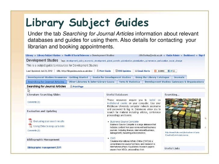 effective literature Tips for effective literature search regardless of whether you're writing a short course paper or your thesis, you're expected to have an.