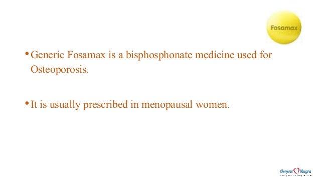 Generic Fosamax Slide 2