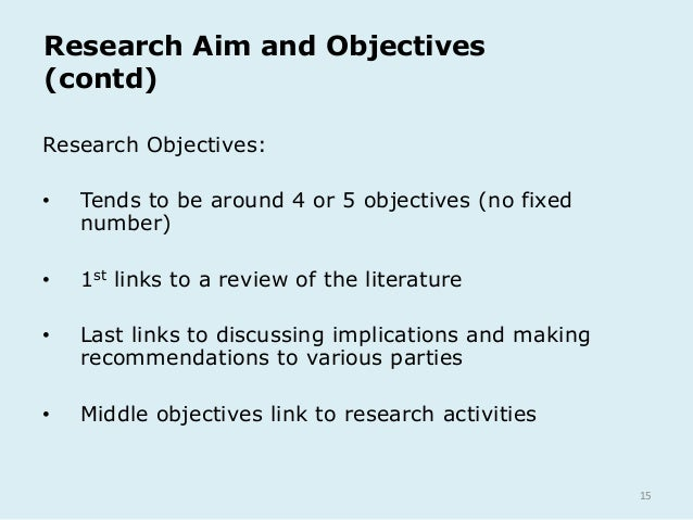 objectives in writing a thesis Writing component goals and objectives  main goal: by the end of the prep year, students will be able to write academic essays (and research papers) at freshman level clearly and accurately at an acceptable speed.