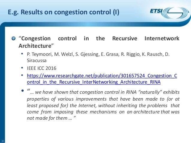 Generic network architecture discussion
