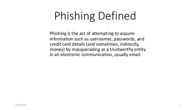 Organizational Phishing Education Slide 3
