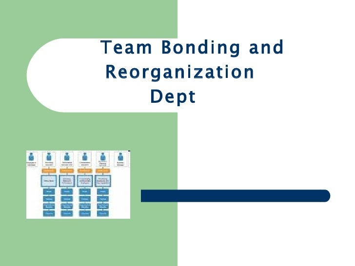 Team Bonding and Reorganization Dept