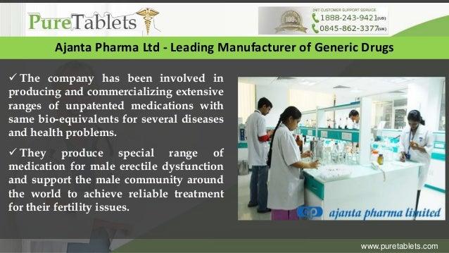 Generic Viagra Manufacturer
