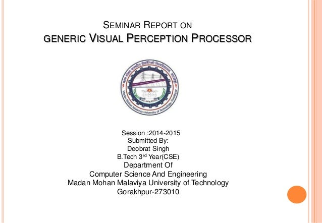 generic visual perception processor