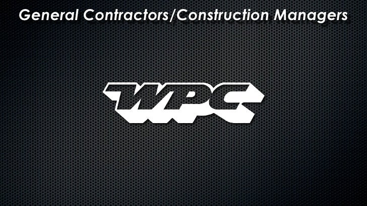 General Contractors/Construction Managers