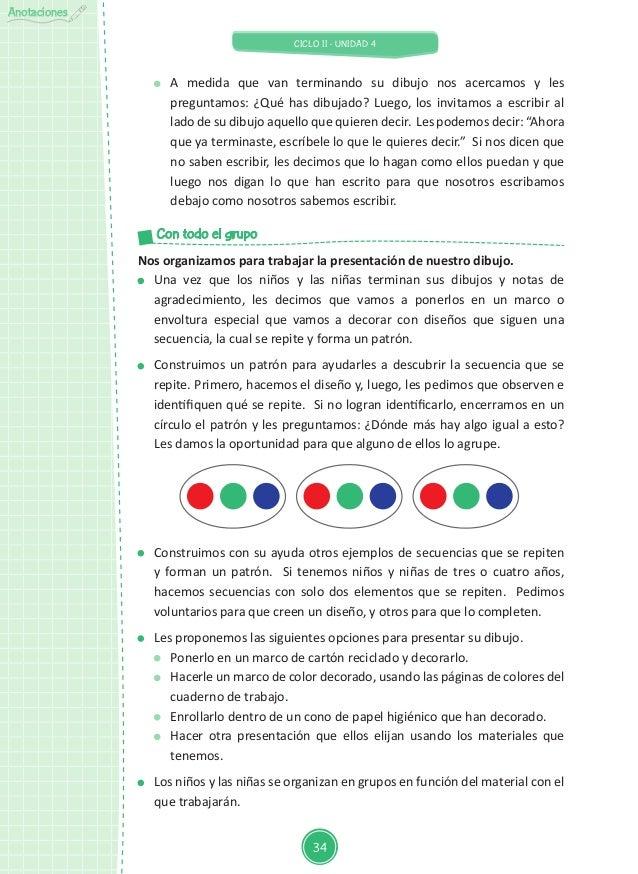 UNIDAD DE APRENDIZAJE Aula de 4-5 años de Educación Inicial NO TODO E…