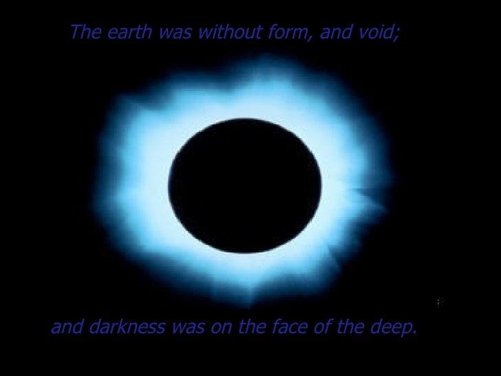 Genesis 1 In The Beginning