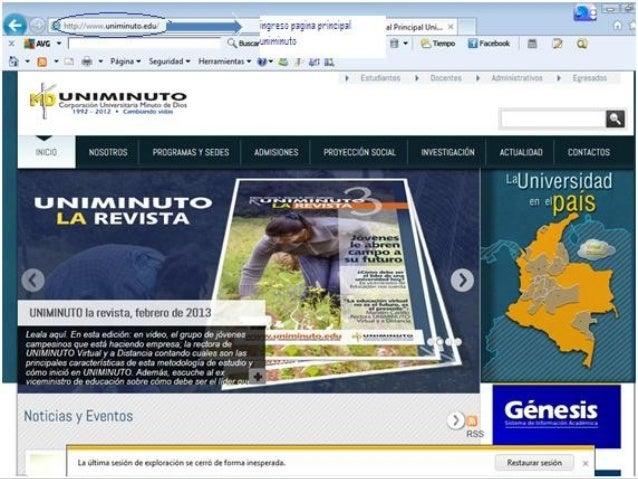    http://www.uniminuto.edu/web/guest   http://gbasicadelainformaci.wix.com/instituc   http://pregrado.uniminuto.edu/pr...