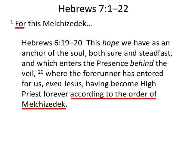 Image result for hebrews 6:19 - hEBREW 7: 28