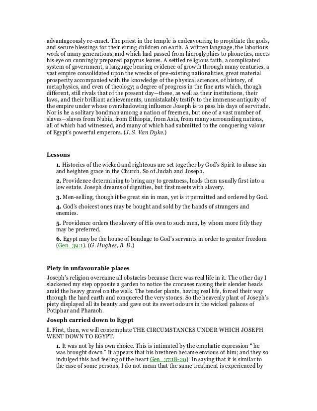 Genesis 39 Commentary