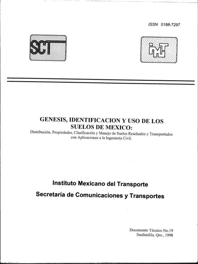 Genesis identificacion y uso de los suelos mexico4