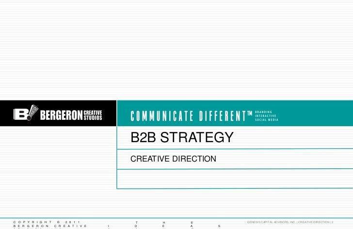 Genesis Integrated Brand Strategy Slide 2