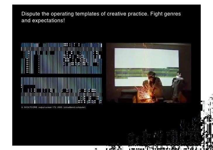 Glitches vs Glitch art!     10. Serial Cosign. Broken Mac Screenshot. 2008. Screenshot.            11. Beflix. Glitch (12)...