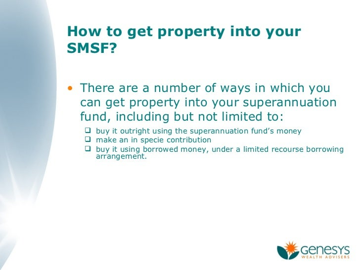 Benefits Of Holding Commercial Property In An Smsf