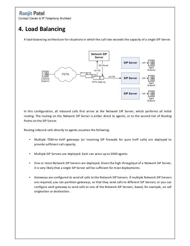Genesys SIP Server Architecture