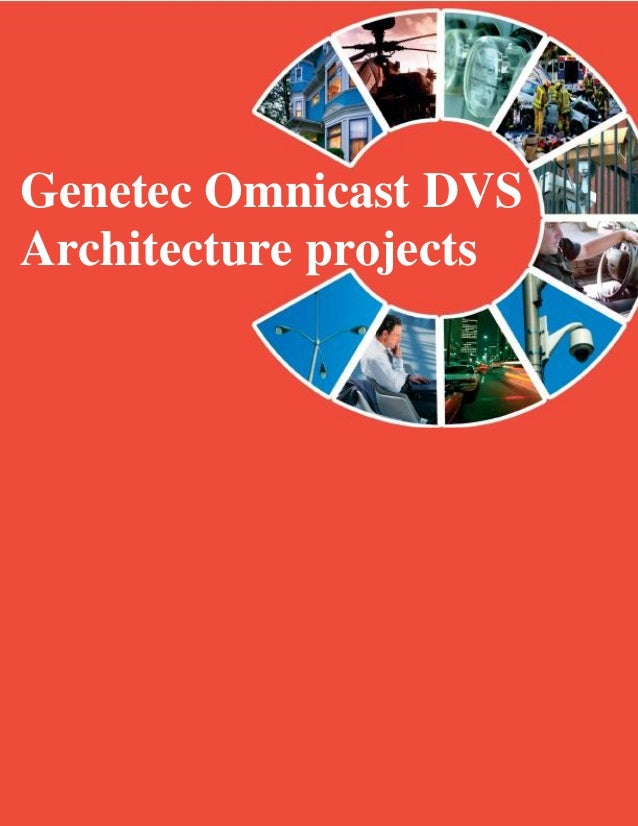 Genetec Omnicast DVSArchitecture projects