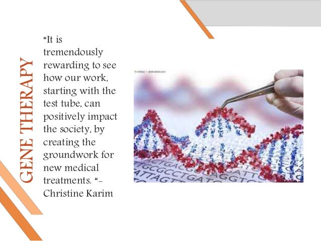 Gene therapy: How does it work. Slide 2