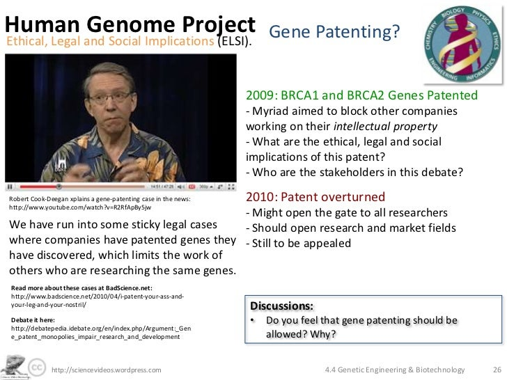 What Are Gene Patents and Why Are People Worried about Them?