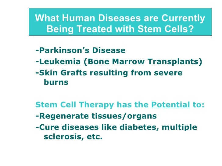 Genetic Engineering Stem Cells And Cloning