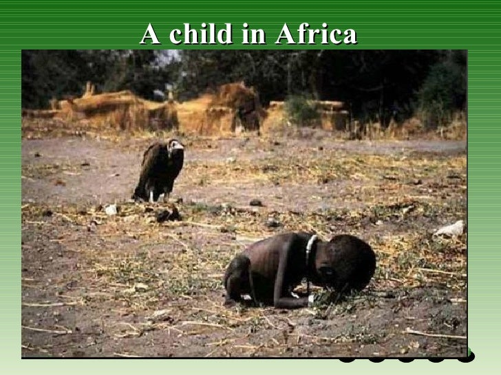 A child in Africa