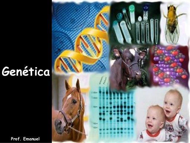 Genética Prof. Emanuel