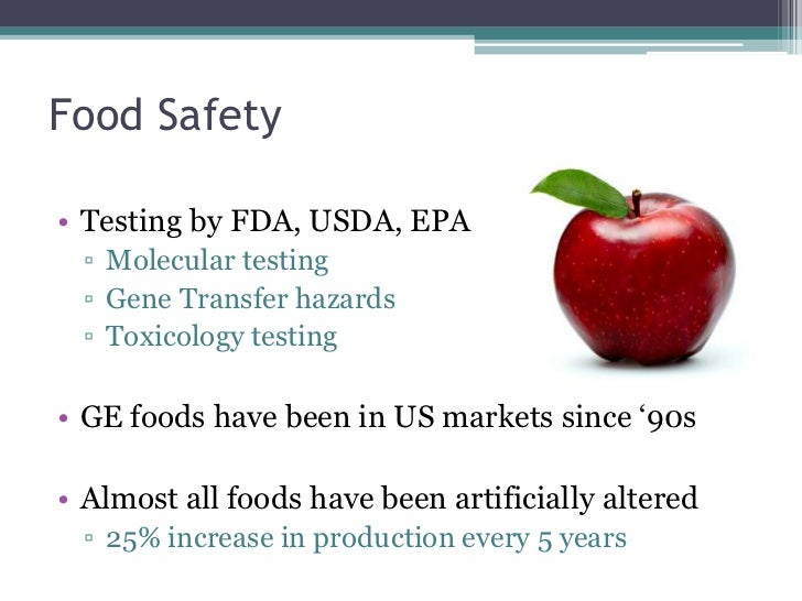 case 12 genetic modified food Genetically engineered (ge) foods have had their dna changed using genes from other plants or animals scientists take the gene for a desired trait in one plant or animal, and they insert that gene into a cell of another plant or animal.