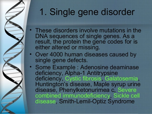 human genetic disorder Thalassaemia is a blood related genetic disorder which involves the absence of or errors in genes responsible for production of haemoglobin, a protein present in the red blood cells each red blood cell can contain between 240 and 300 million molecules of haemoglobin.