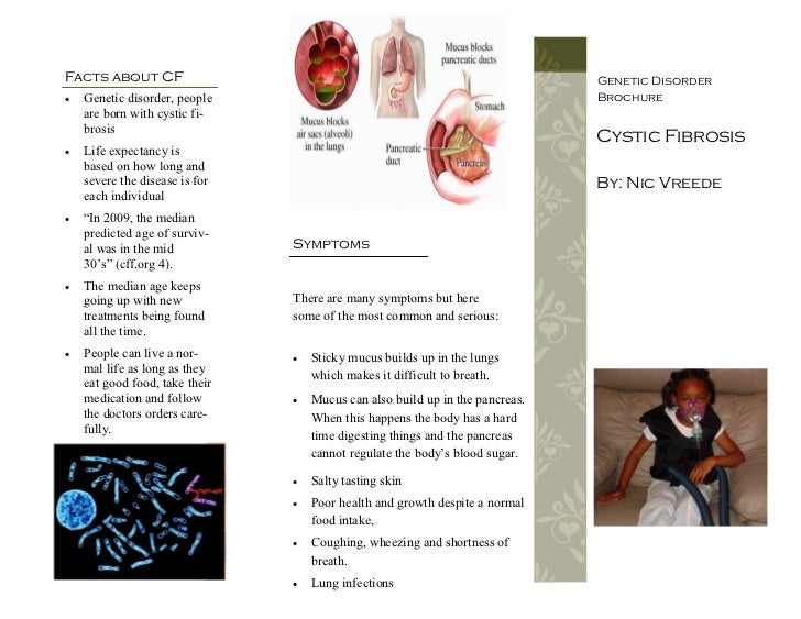 Facts about CF                                                                 Genetic Disorder   Genetic disorder, peopl...