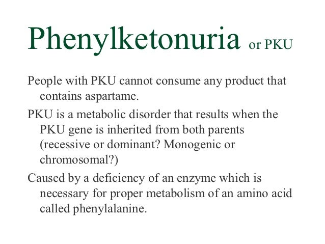 a clinical description of the autonomic recessive disorder classical pku Hyperphenylalaninemia, non-pku d is an autosomal recessive disorder characterized by mild for a general phenotypic description and a discussion of.