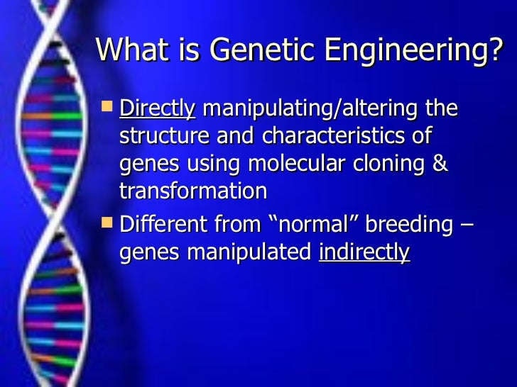 Genetic engineering modified dna stem cells - 4 1