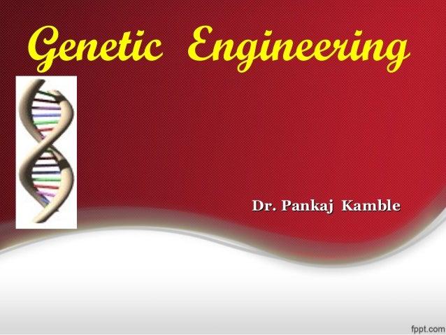 Genetic engineering research topics