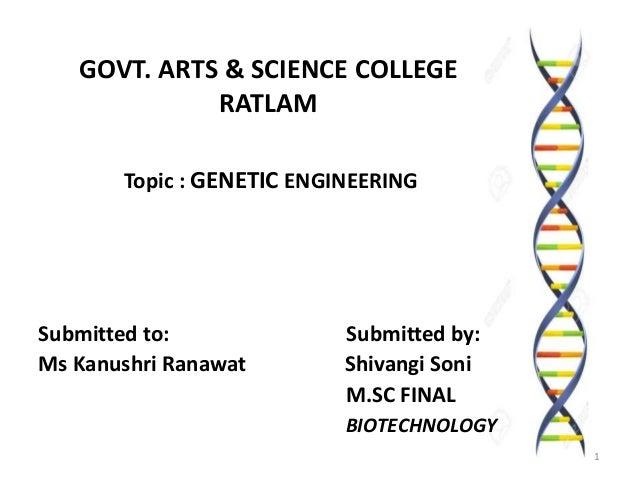 genetic engineering definition biology