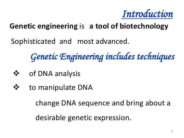 Genetic engineering techniques