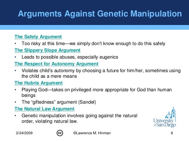 genetic manipulation When it comes to genetic engineering, we're amateurs sure, we've known about dna's structure for more than 60 years, we first sequenced every a, t, c, and g in our bodies more than a decade.