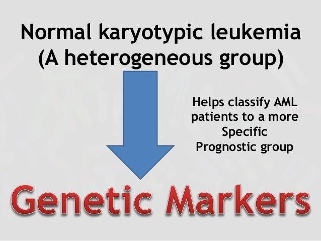 Genetic Markers in AML