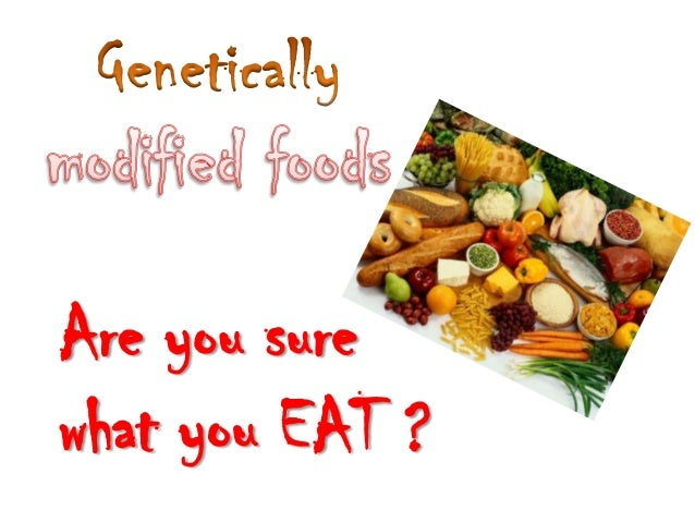 Are you surewhat you EAT ?