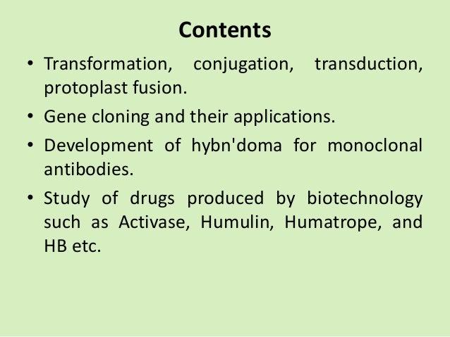 Genetic recombination Slide 2