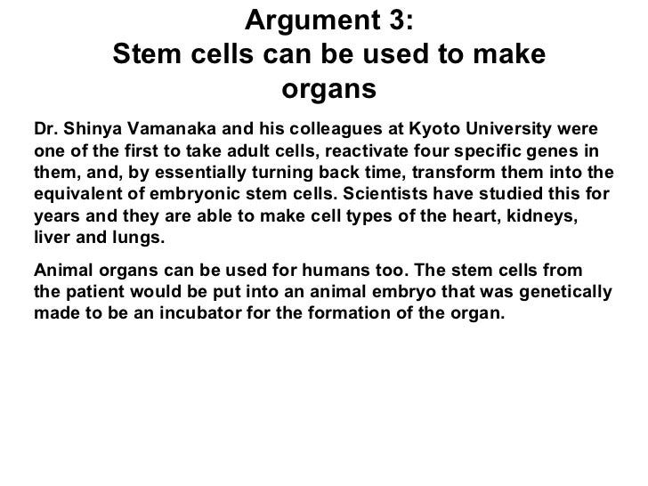 "stem cell essay questions What's it like to get a stem cell and questions will be a mini-transplant, described under ""allogeneic stem cell transplant"" in types of stem cell."