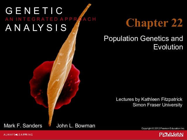 Lectures by Kathleen Fitzpatrick Simon Fraser University Copyright © 2012 Pearson Education Inc. Mark F. Sanders John L. B...