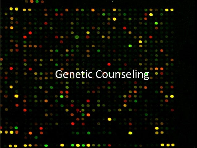 """genetic counseling essay Genetic counseling is a relatively new concept in healthcare and """"is the process of helping people understand and adapt to the medical, psychological and familial implications of genetic contributions to disease"""" (national society of genetic counselors [nsgc], 2005, para 2."""