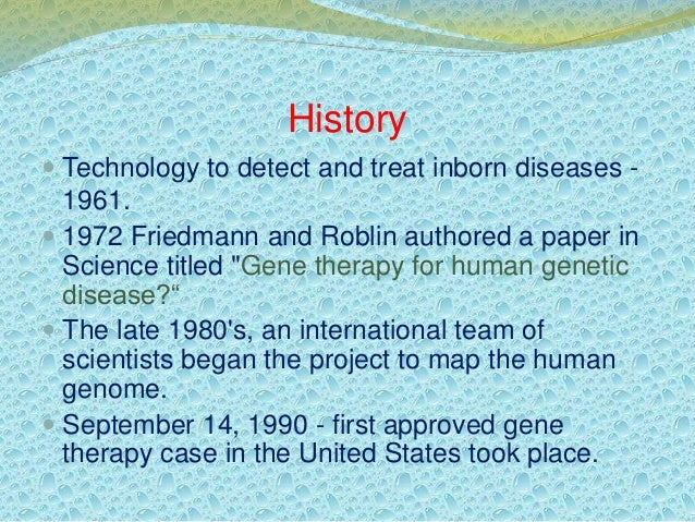 gene therapy saves lives essay Gene editing is leading to a new age in human health and longevity the medical revolution — but how many lives can we actually save with gene therapy.